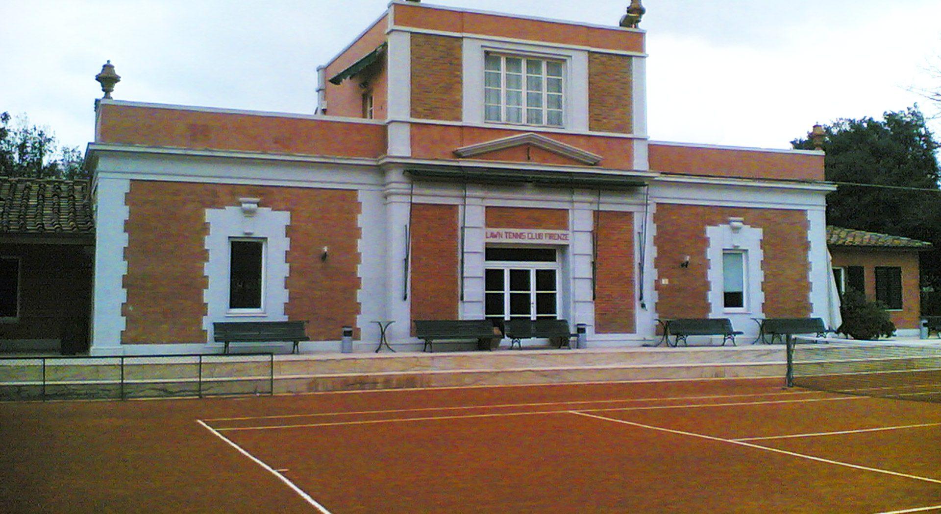 circolo tennis firenze edificio
